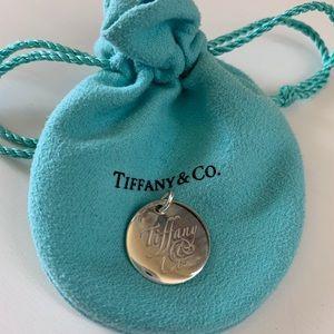 Tiffany & Co Large Round Disc Charm